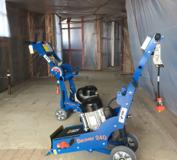asbestos floor vinyl removal