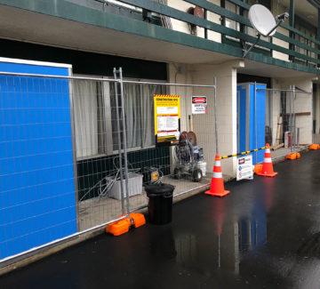 asbestos removal site