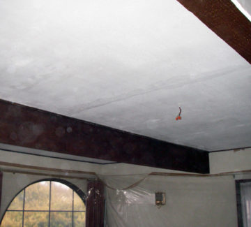 ceiling restorations project