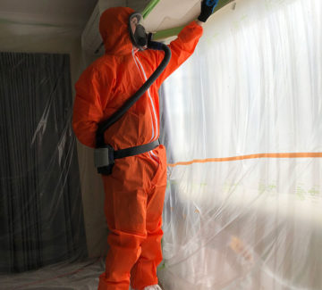 asbestos removal from textured ceiling