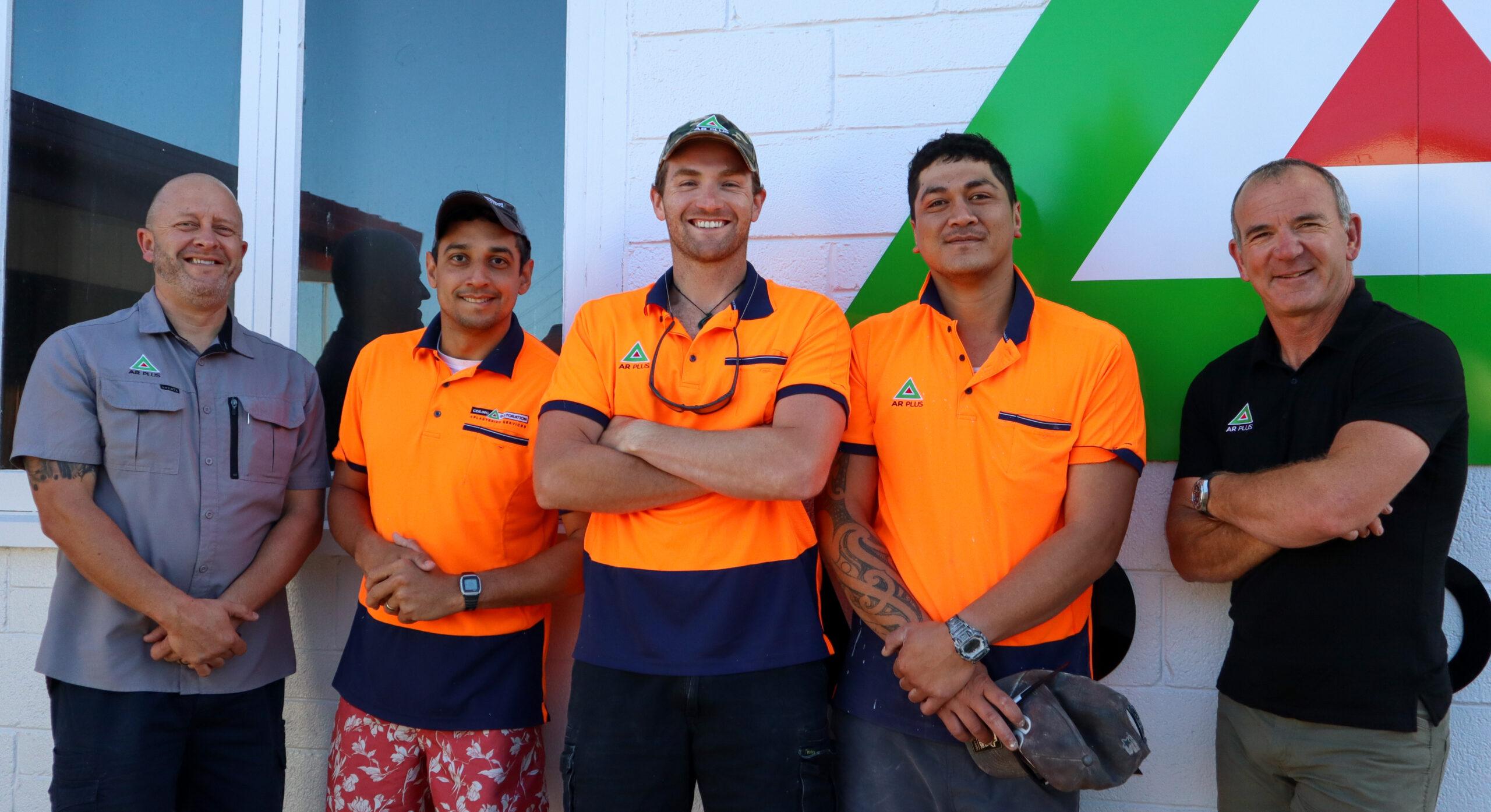 Plastering Crew